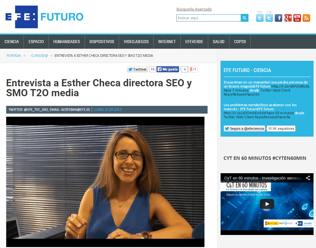 entrevista-esther-checa-t2o-media-efe-futuro
