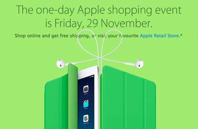 black friday cyber monday comprar online apple