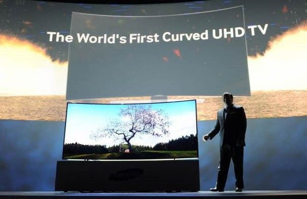 que es televisor 4k smart tv pantalla curva