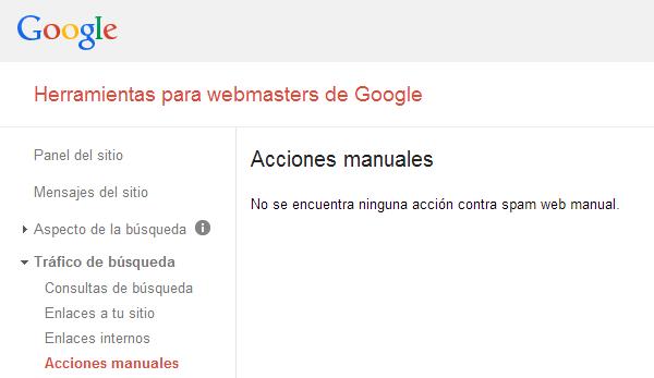 acciones-manuales-google-webmaster-tools