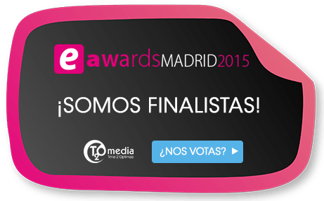 T2O media finalista de los eAwards 2015