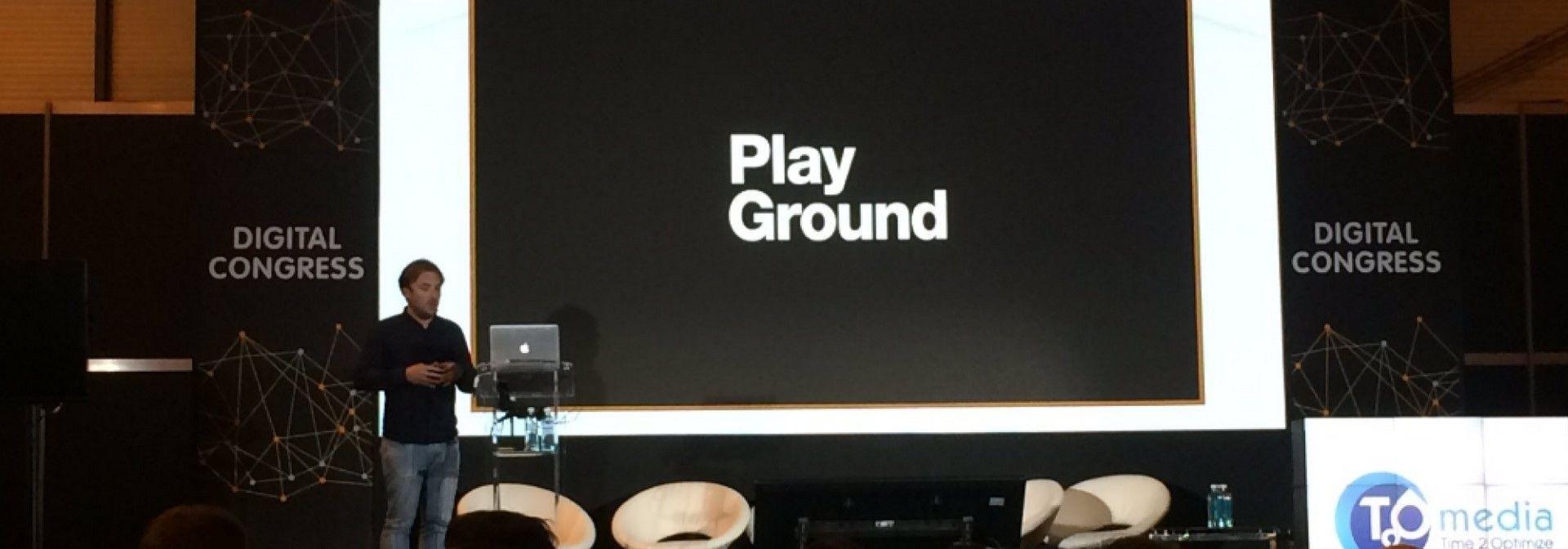 PlayGround en el Digital Congress