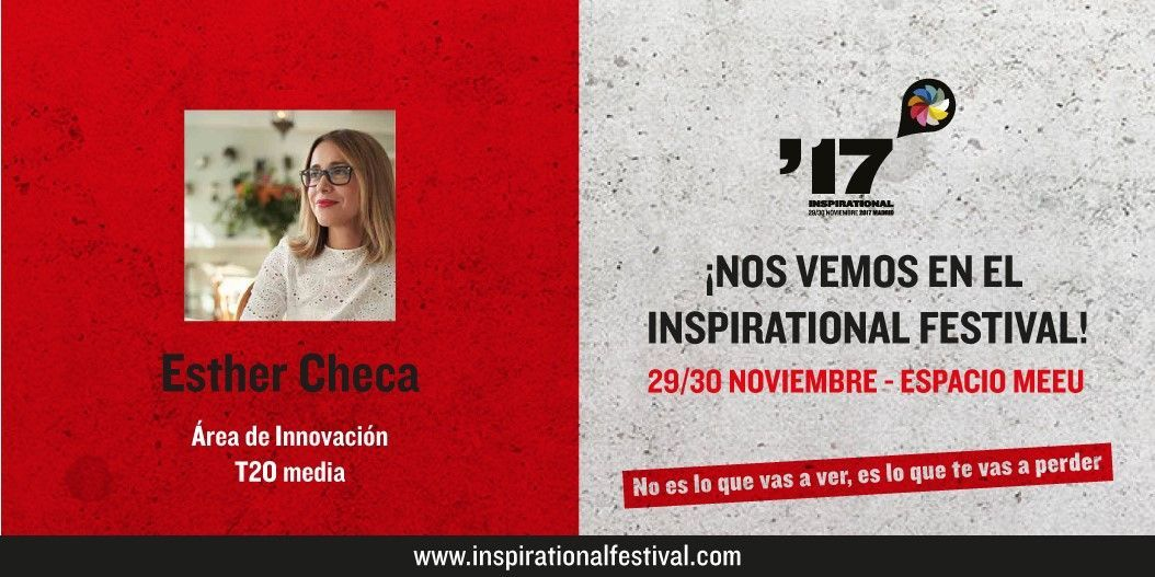 Esther Checa en El Festival Inspirational 2017
