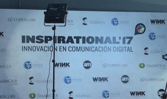 Patrocinio sala de Transformación Digital en el Festival Inspirational 2017