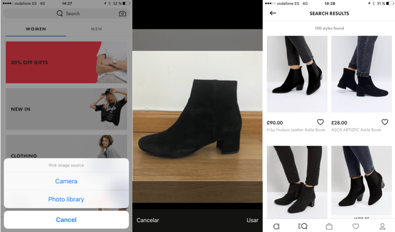 Asos - Visual Search
