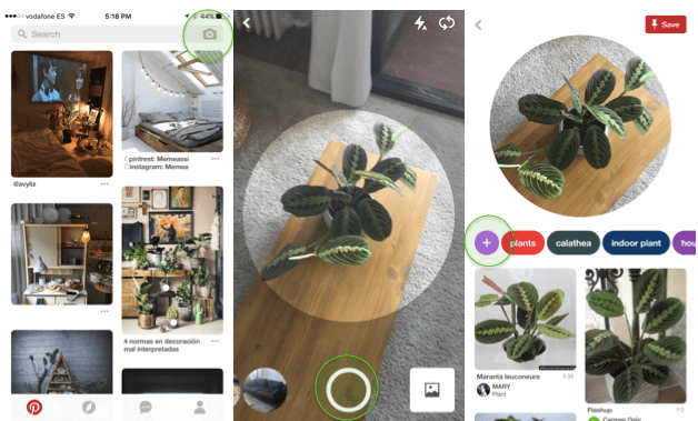 Pinterest Lens: Visual Search