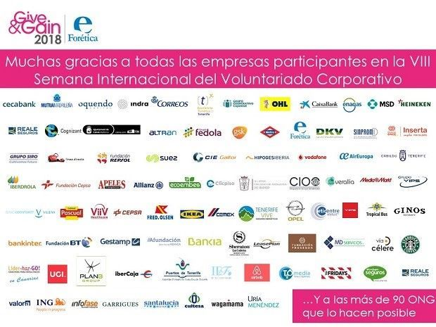 give & gain empresas asociadas