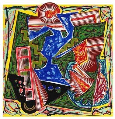 Frank Stella en los 50
