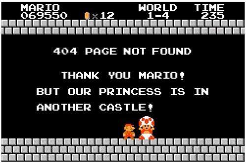 Error 404 de manera divertida