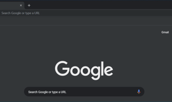 Nuevo Google Oscuro
