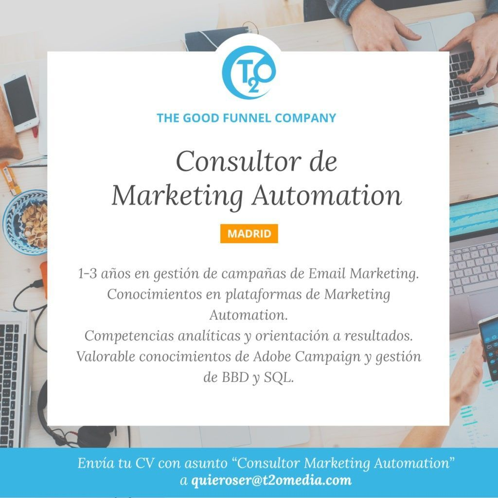 oferta consultor mkt automation