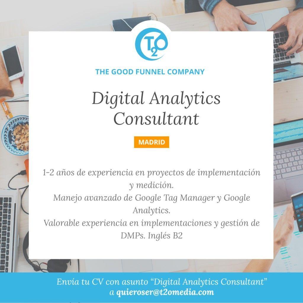 Oferta Digital Analytics Consultant